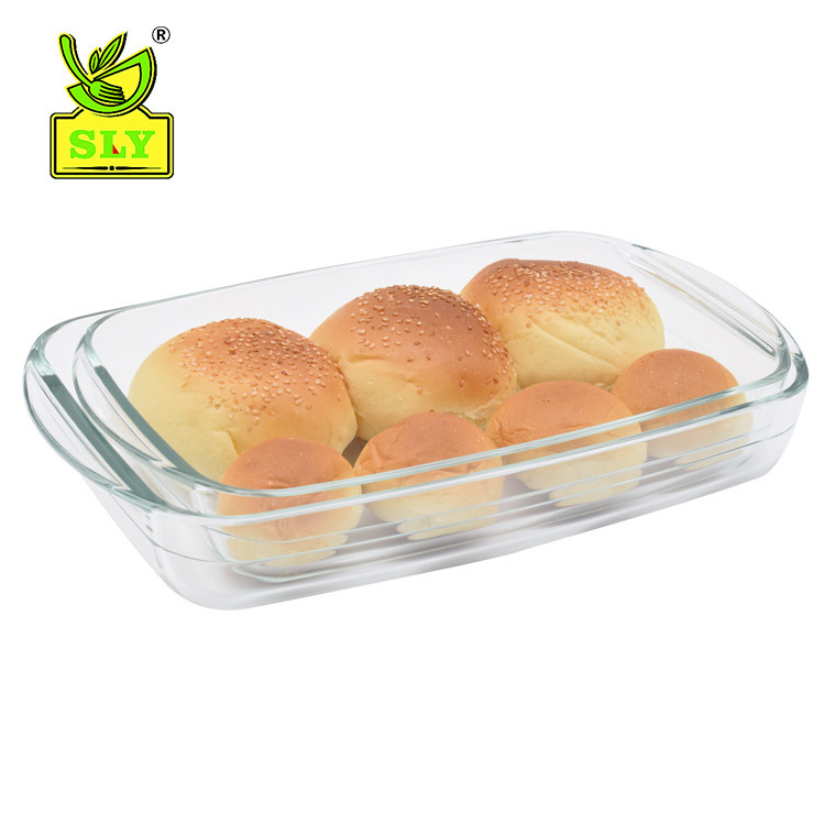 2 sets oblong baking tray